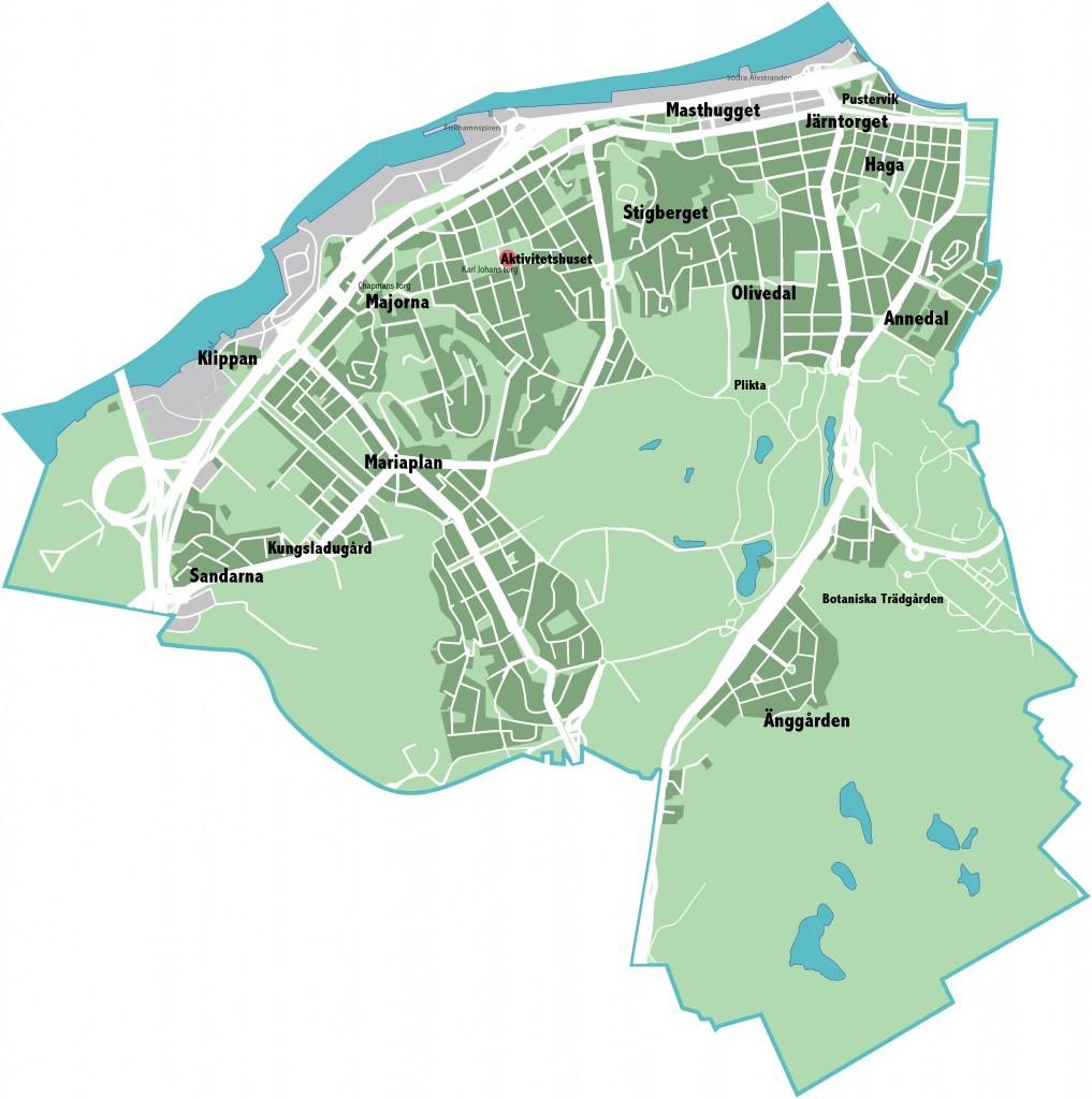 Karta 135 Majorna-Linné